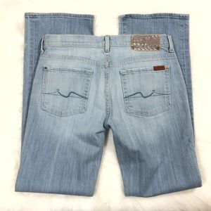 7 For all Mankind flip flop jeans